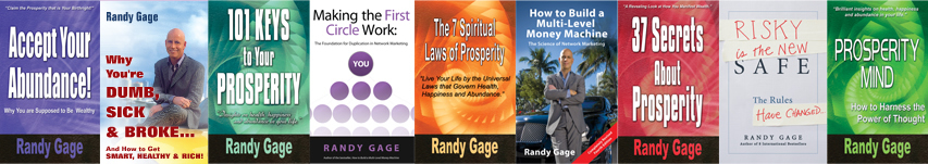 Randy Gage Books